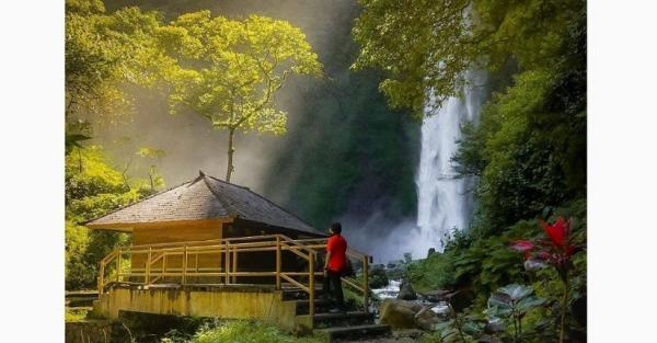 Ide Liburan ke Bandung, Asyik ke Curug Cimahi Pemandangannya Mirip Lukisan