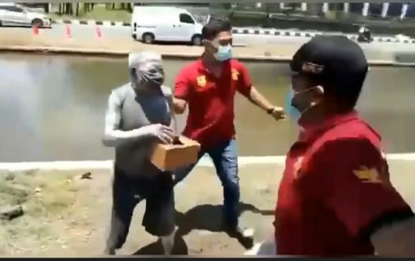 Viral Satpol PP Tangkap Manusia Silver di Semarang, Ternyata Purnawirawan Polri
