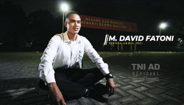 Kisah Taruna Akmil David Fatoni, Sempat Dicibir karena Anak Tukang Pijat