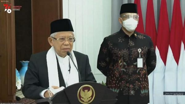 Wapres Ma'ruf Amin Ungkap Ada 28.000 Anak Yatim Piatu per September 2021