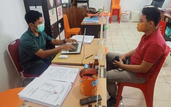 Gelapkan Uang Perusahaan Rp432 Juta, Sales Marketing Ditangkap Polisi