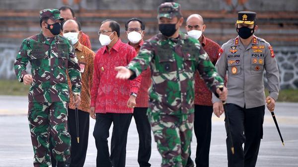 Bali Dapat Penghargaan Pelaksanaan PPKM Mikro Terbaik dari Panglima TNI
