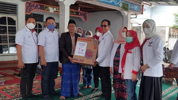 HUT ke-7, Perindo Sumsel Salurkan Bantuan Beras dan Alquran ke Rumah Tahfidz Rahmad
