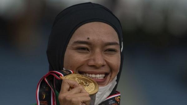 Pelari Agustina Mardika Sumbang Medali Emas ke Sumut dari Nomor 1.500 Meter