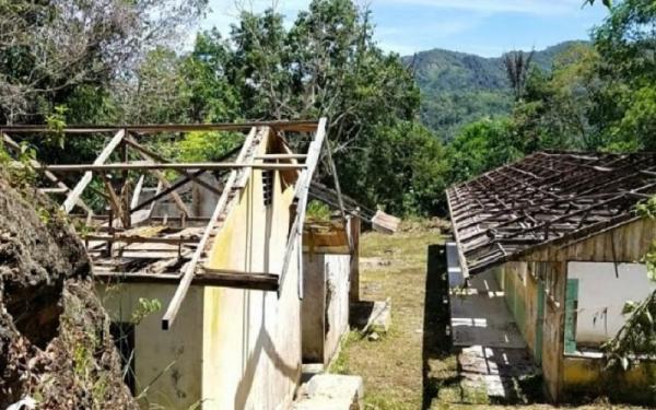 Atap SD Negeri di Padangsidimpuan Dicuri, Kepala Sekolah Lapor Polisi