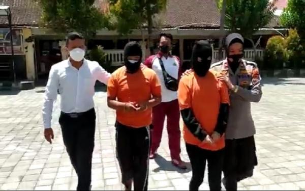 Pacaran sambil Isap Sabu, Pasangan Kekasih Ini Ditangkap Polisi