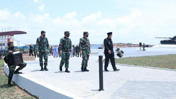 Panglima TNI Resmikan Markas Kogabwilhan I, II, III dan Monumen Tri Matra di Tanjungpinang