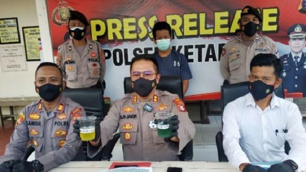 Sulap Pertalite Jadi Premium, Pria di Sampit Dijemput Polisi