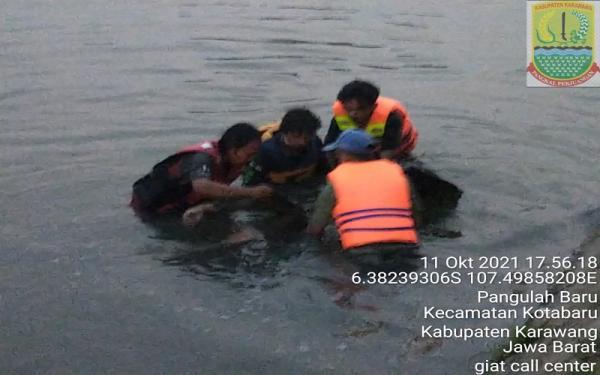 Remaja Hanyut di Irigasi Karawang Ditemukan Meninggal, Terbawa Arus Sejauh 4 Km
