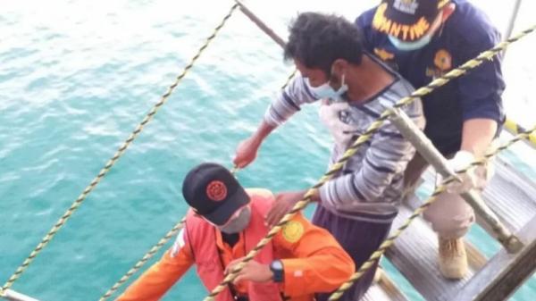 Ditemukan Kapal Kargo Luar Negeri, 2 Nelayan Sibolga yang Hilang di Agam Selamat