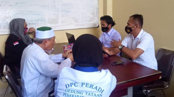 Langgar Prokes, 3 Petinggi Khilafahtul Muslimin Diperiksa Penyidik Polda Lampung