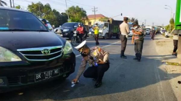4 Polisi Kecelakaan saat Buru Pelaku Penganiayaan Pedagang yang Viral, 1 Tewas