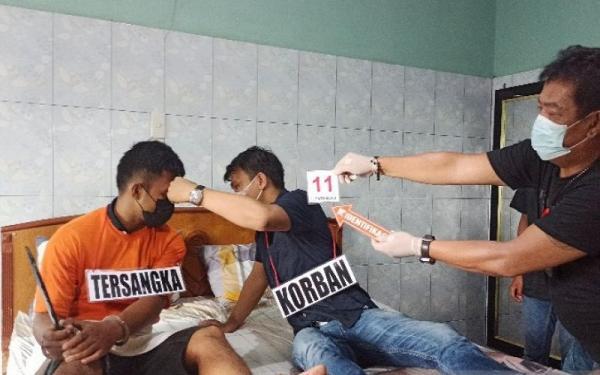 Prarekonstruksi Pembunuhan Pria dalam Hotel di Medan, Polisi: Hanya Terjadi Oral Seks