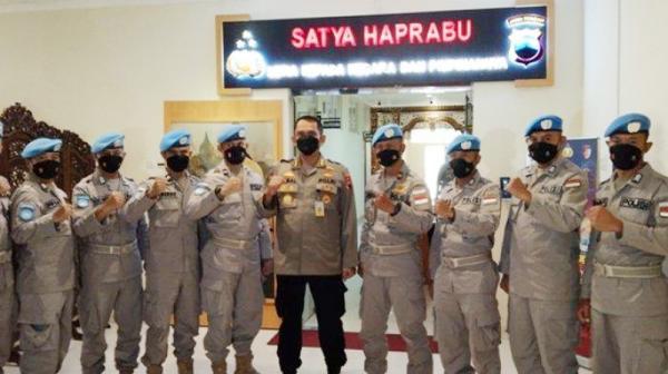 9 Anggota Polda Jateng Ini Miliki Kualifikasi Khusus, Terpilih Jadi Pasukan Minusca UN