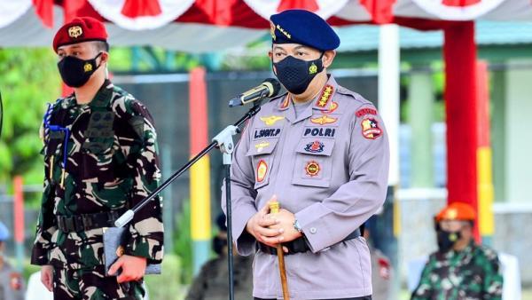 Papua Aman dari KKB dan Covid-19 saat PON, Kapolri: Berkat Kerja Keras TNI-Polri dan Masyarakat