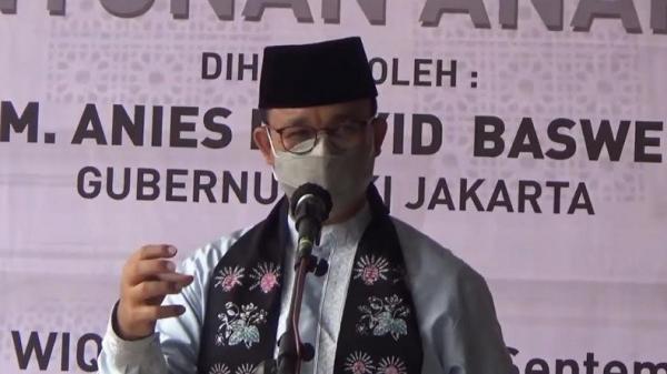 Anies: Jakarta Serius Menata Perkampungan, Bukan Cuma Jalan Besar Saja