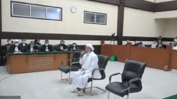 Perkara RS Ummi, Surat Pernyataan Banding Habib Rizieq dan Menantunya Diserahkan ke PN Jaktim