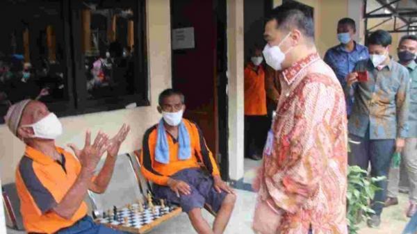 Pastikan Penerapan Protokol Kesehatan, Wagub DKI Kunjungi Tiga Panti Sosial di Jakarta Timur