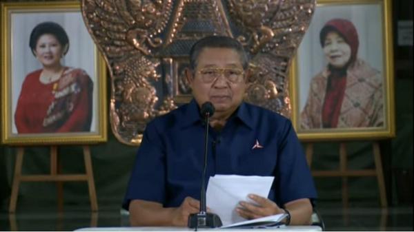 SBY Sampaikan Duka Mendalam untuk 53 Awak KRI Nanggala yang Gugur