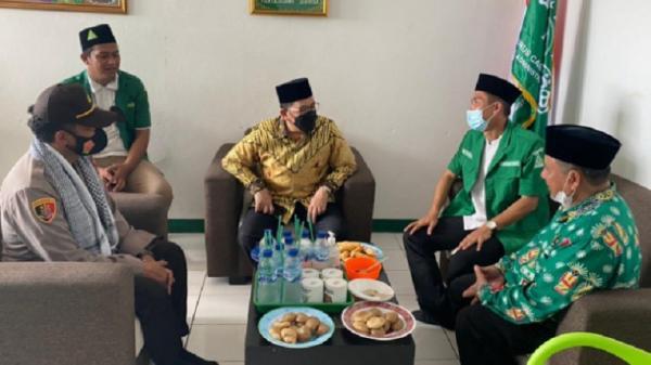 Wamenag Kunjungi Sekretariat Pengurus Cabang GP Ansor Kepulauan Seribu