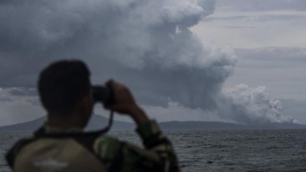 Erupsi Gunung Anak Krakatau Harus Diwaspadai, Ini Hasil Pemantauan Pos