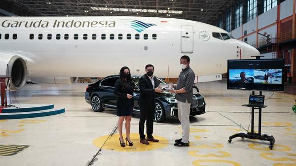 BMW Indonesia Sediakan BMW 730Li M Sport untuk Layanan Penumpang Garuda