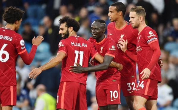 Mohamed Salah Cetak Gol Ke-100, Liverpool Sikat Leeds 3-0
