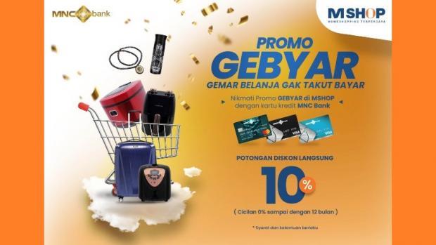 Happy Shopping Semua Diskon 10 Persen Di Aplikasi Emshop Pakai Kartu Kredit Mnc Bank