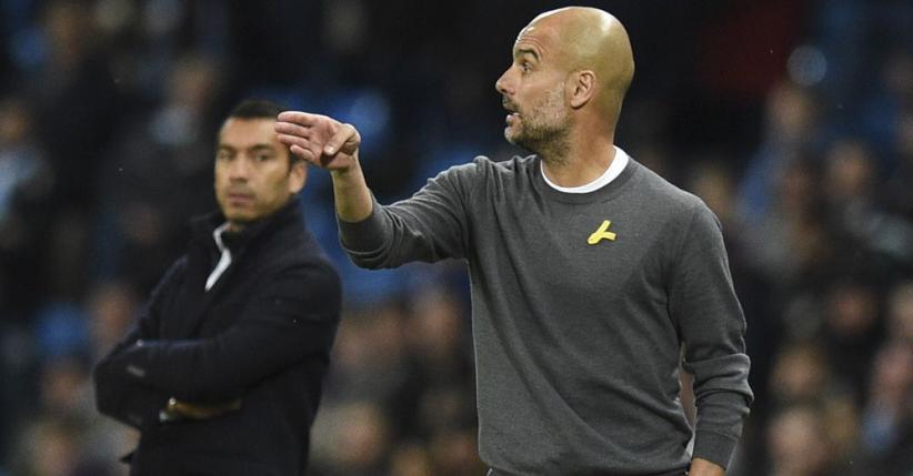 FA Sanksi Guardiola karena Gunakan Pita Kuning