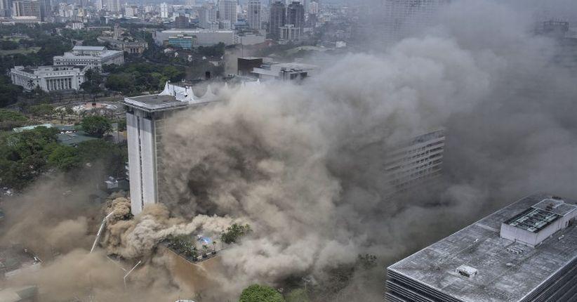 5 Orang Tewas Akibat Kebakaran di Kompleks Kasino dan Hotel di Manila