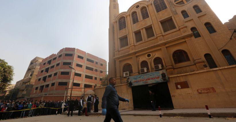 Tewaskan 11 Orang, Penyerang Gereja Mesir Dijerat Pasal Pembunuhan