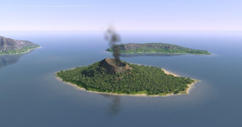 Gunung Anak Krakatau Terpantau Berhenti Erupsi