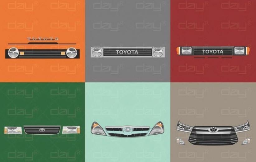 Wajah Toyota Kijang dari Masa ke Masa