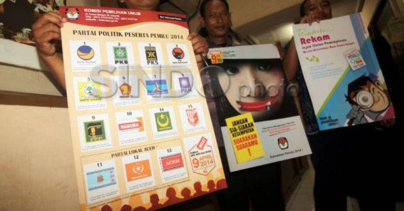 Pemprov DKI Kucurkan Dana Bantuan Partai Politik Sebesar Rp10,6 Miliar