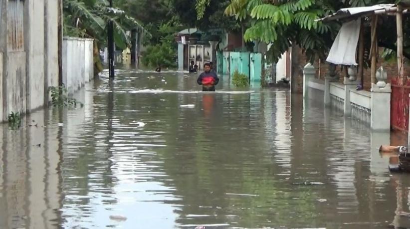 Dilanda Hujan Lebat, 2 Kecamatan di Lebak Terendam Banjir