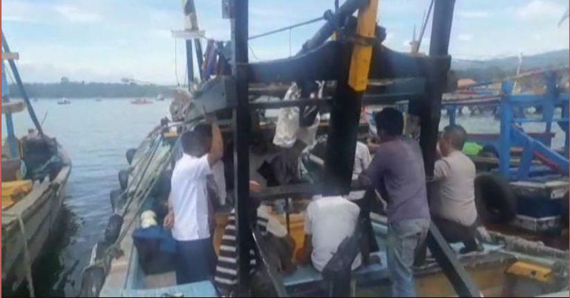 Antisipasi Cantrang, Polisi Cek Perahu Nelayan di Lampung