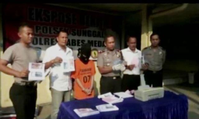 Edarkan Uang Palsu, Mahasiswa di Medan Ditangkap