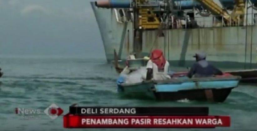 Warga Keluhkan Aktivitas Penambangan Pasir di Pantai Labu