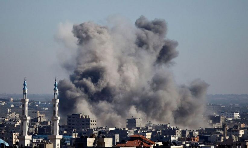 Gaza Dibombardir Jet Tempur Israel, Puluhan Orang Luka-luka