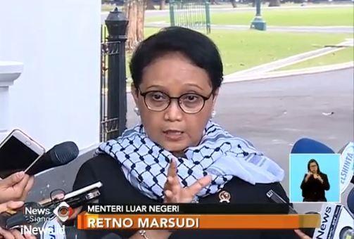Indonesia Imbau Negara Lain Tak Pindahkan Kedubes ke Yerusalem