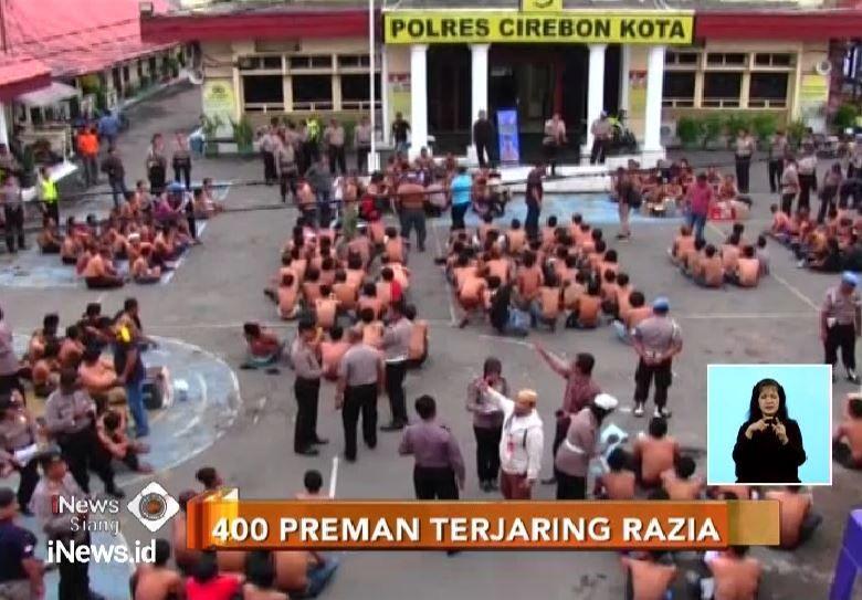 400 Preman Diciduk Polisi, 60 Orang Masih Anak di Bawah Umur