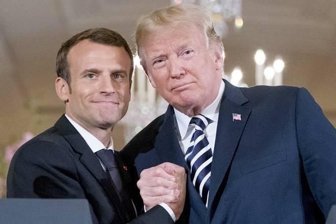 Donald Trump Salah Sebut Emmanuel Macron sebagai Perdana Menteri Prancis
