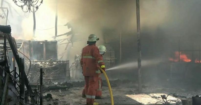 Buat Perapian di Rumah, Seorang Kakek Tewas dalam Kebakaran