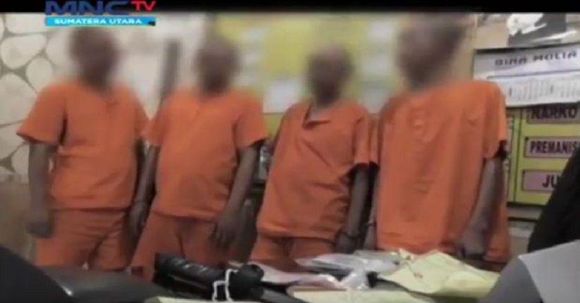 Polisi Tangkap 4 Pelaku Kejahatan Hipnotis dalam Angkot, 2 Ditembak