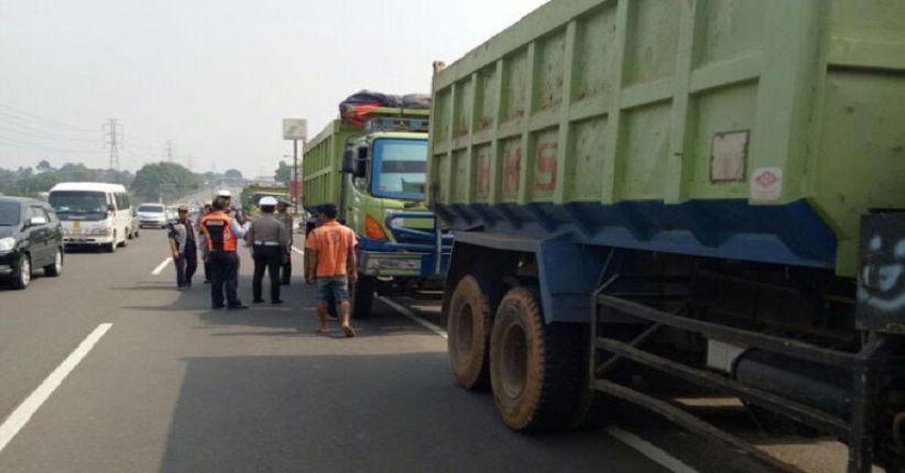 Razia Gabungan Polisi dan Dishub Bali Incar Truk Kelebihan Muatan yang Bikin Rusak Jalan
