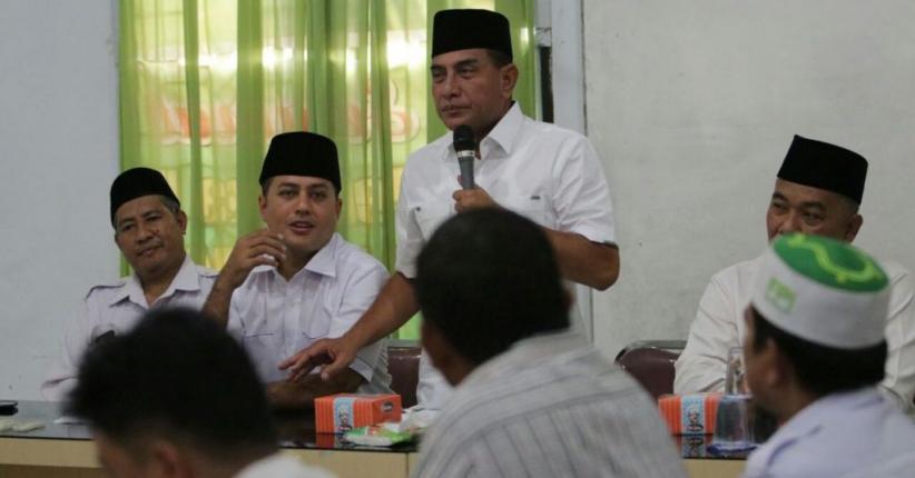 Temui Tokoh Muslim di Binjai, Edy Janji Dengar Aspirasi Umat