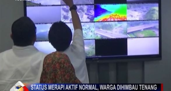 Gunung Merapi Waspada, Warga Dilarang Beraktivitas di Radius 3 Km