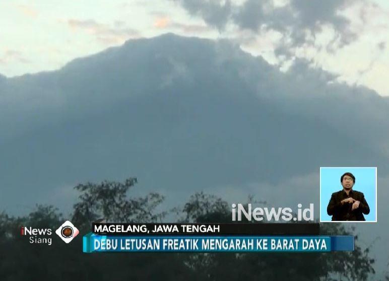 15 Desa di Magelang Hujan Abu Letusan Gunung Merapi
