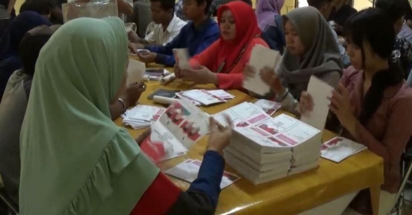 Real Count KPU Jabar, Jokowi-Ma'ruf Sementara Unggul 2 Persen