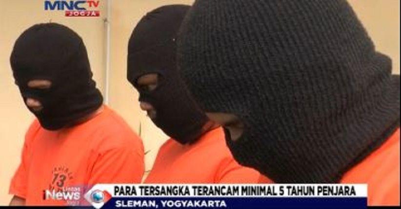 Jual Tembakau Gorilla di Medsos, 3 Pengedar Ditangkap Polda DIY